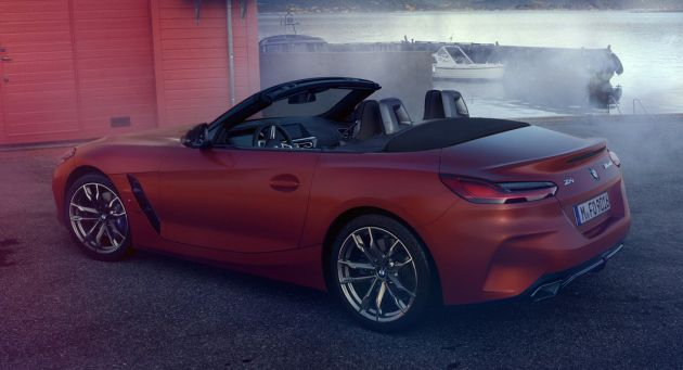 First Look of BMW Z4 G29 Leaked