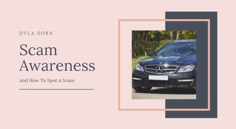 DVLA SORN Scam Awareness And How To Spot A Scam