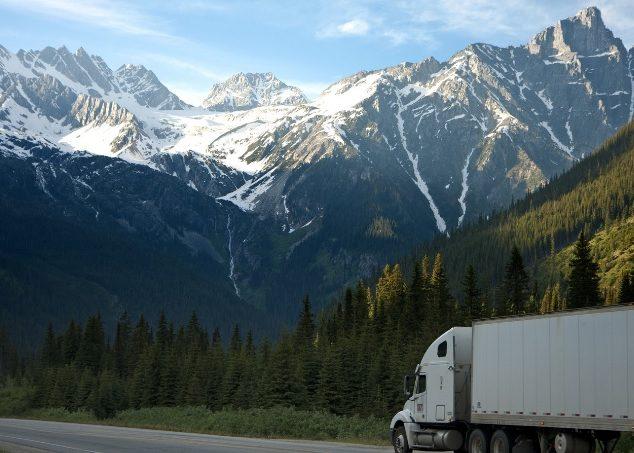 Cargo In A Truck