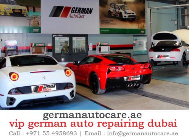 vip german auto repairing dubai