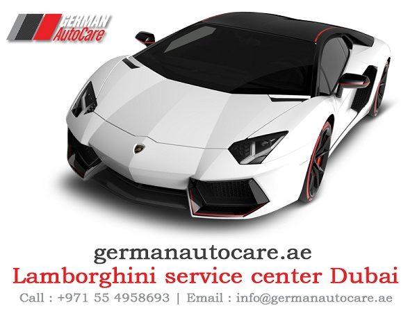 Lamborghini service center Dubai