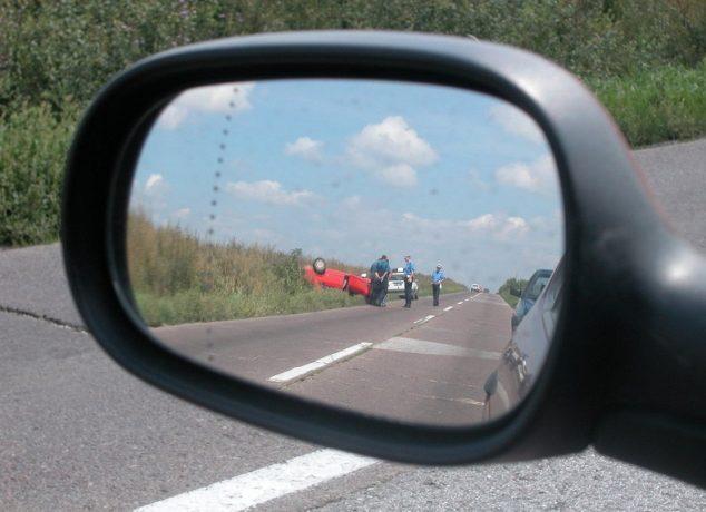 hit by a speeding truck